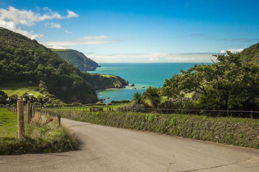 Devon and Cornwall UK
