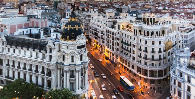 moving to Madrid in Spain